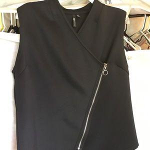 Black Moto Inspired Vest